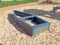 Sandkasten LUT aus Recyclingkunststoff