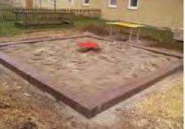 Sandkastenprofil,  U-Profil, U-Schwelle,  Sandkasteneinfassung