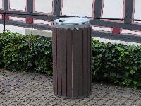 Abfallbeh�lter STORA aus Recyclingkunststoff