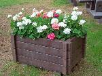 Blumenkübel SCILLA aus Recyclingkunststoff