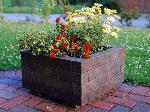 Blumenkübel IBERIS aus Recyclingkunststoff