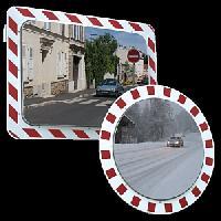 Unzerbrechliche Verkehrsspiegel Anti-Frost/Ant-Belag - Vialux�