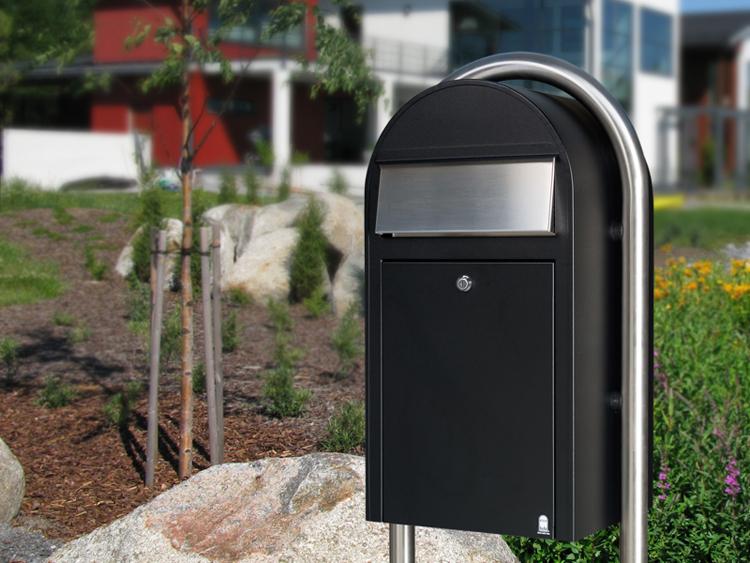 Original Bobi Grande Postkasten 1/Stck ,Maße cm:32x60x27 ,Einwurf cm:8 x 26