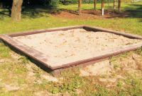 Sandkasten NAMIB (Riviera) aus Recyclingkunststoff 1/Stck  ,Länge mm:3000 ,Breite mm:3000 ,Höhe mm:3