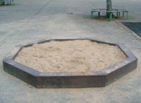 Sandkasten MOJAVE (Bodensee) [ Recycling-Kunststoff hanit® ] 1/Stck  ,Durchmesser mm:3000 ,Höhe mm:2