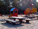 Kinderbank und Kindertisch MIRA Recyclingkunststoff
