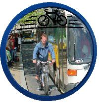 Cyclomir Polymir®  Sicherheitsspiegel der Fahrradfahrer