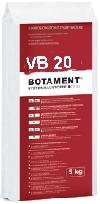 BOTAMENT® VB 20 - Vergussbeton 25.00Stck./Sack  ,Farbe:grau ,Gebinde:1x25 kg