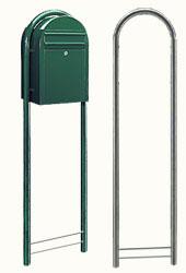 Original Bobi Round Postkastenständer 1/Stck ,Maße cm:165x41x3,8