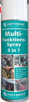 HOTREGA Multi-Funktions-Spray 5 in 1