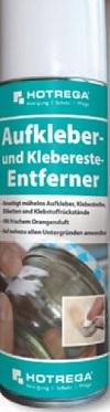HOTREGA Aukleber- und Klebereste-Entferner
