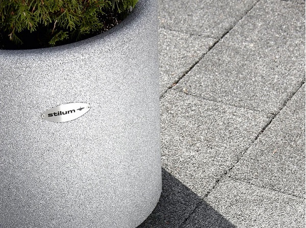 Conradi + Kaiser Recycling Kautschuk Vasen baushop24.com