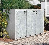 KLASSIK Serie 120 Beton-Mülltonnenbox  [PAUL WOLFF®]