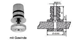 FACO Geländer-Stecksystem Bodenhalter