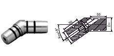 FACO Gel�nder-Stecksystem Rohrverbinder
