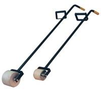Andrückrolle für Bitumenbahnen 1/Stck ,Andruckbreite ca.:10 cm ,Gesamtlänge cm:155 cm ,Walzendurchmesser ca.:12.5 cm