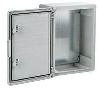 Schaltschränke aus Kunststoff mit Sichttür Schutzart IP65