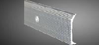 Aluminium Anschlussleiste