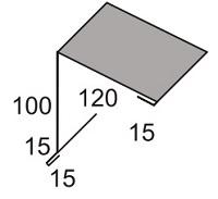 Luxmetall Pultabschluss Nr.22 für LM D-Tile 1060