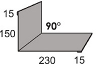 Luxmetall Maueranschluss Nr. 10 f�r LM D-Tile 1060