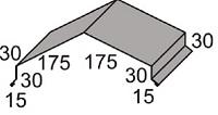 Luxmetall Winkelfirst Nr.26 für LM D-20/138, 35/207 und 18/76