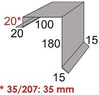 Luxmetall Ortgang Nr. 8 f�r LM D-20/138 und 35/207