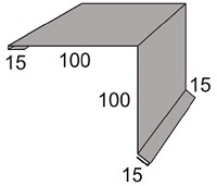 Luxmetall Ortgang Nr. 25 f�r LM D-20/138, 35/207 und 18/76
