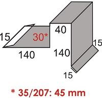 Luxmetall Ortgang Nr. 14 für LM D-20/138, 35/207 und 18/76