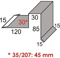 Luxmetall Ortgang Nr. 23 f�r LM D-20/138, 35/207 und 18/76