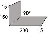 Luxmetall Maueranschluss Nr. 10 f�r LM D-20/138, 35/207 und 18/76