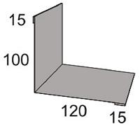 Luxmetall Maueranschluss Nr. 21B f�r LM D-20/138, 35/207 und 18/76