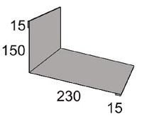 Luxmetall Maueranschluss Nr. 10B f�r LM D-20/138, 35/207 und 18/76