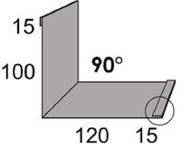 Luxmetall Maueranschluss Nr. 21A für LM D-20/138, 35/207 und 18/76