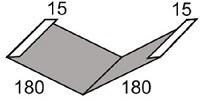Luxmetall Kehlblech Nr. 15 für LM D-20/138, 35/207 und 18/76