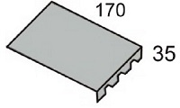 Luxmetall Zahnblech f�r LM D-35/207