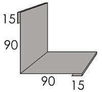 Luxmetall Innenecke (Fassade) für LM D-20/138, 35/207 und 18/76