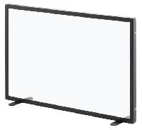 HEIBI Funkenschutz aus Stahl und Glas 1/Stck ,Modell:52145-025 ,Farbe:Schwarz