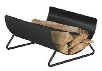 <b>HEIBI</b> Holzkorb, Kaminholzlager, modern aus Stahl