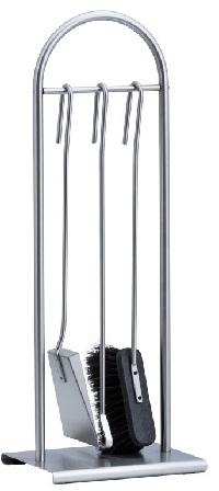 HEIBI Kaminbesteck, Edelstahl, 3-teilig, 72 cm 1Stck./SET ,Modell:52317-072 ,Ausführung:Edelstahl