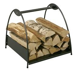 <b>HEIBI</b> Holzkorb, Holzlager aus Stahl, oder Edelstahl