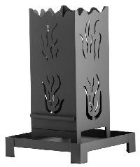 <b>HEIBI</b> Feuers�ule, Gartenfackel aus Stahl