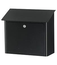 HEIBI Postkasten GRAN SECURO 05 1/Stck ,Modell:64381-028 ,Farbe:Schwarz/Glimmer
