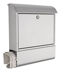 HEIBI Briefkasten mit Zeitungsfach 1/Stck ,Modell:43802-050 ,Ausf