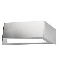 HEIBI LED Außenwandleuchte VIDUX 1/Stck  ,Modell:68143-072 ,Ausführung:Edelstahl, geschliffen ,Licht