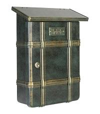 HEIBI Briefkasten ECARO, Edelstahl 1/Stck ,Art.-Nr.:64391-002 ,Farbe:Braun/Gold