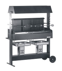 HEIBI Grill PROFI aus Stahl 1/Stck ,Art.-Nr.:80140