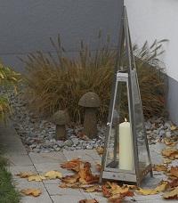 <b>HEIBI</b> Windlichter aus Edelstahl