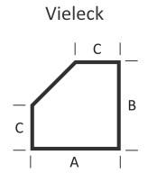 <b>KLEINING</b> Bodenplatte f�r Kaminofen (Vieleck)