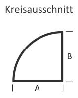 <b>KLEINING</b> Bodenplatte für Kaminofen (Kreisausschnitt)