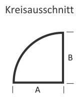 <b>KLEINING</b> Bodenplatte f�r Kaminofen (Kreisausschnitt)